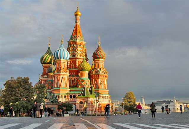 Menú San Petersburgo